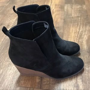 Mossimo Supply Co. Faux Suede Booties